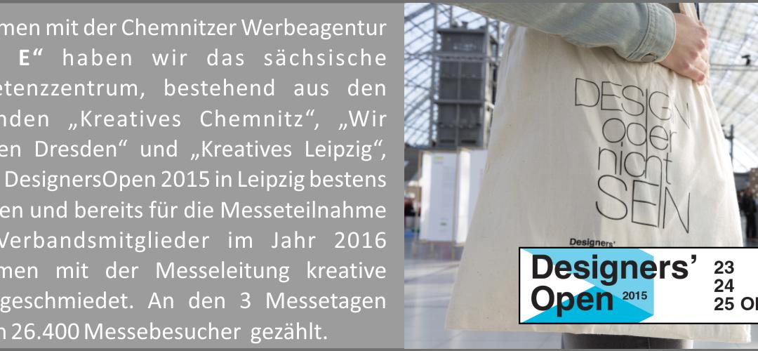 Teilnahme an der Designers Open in Leipzig