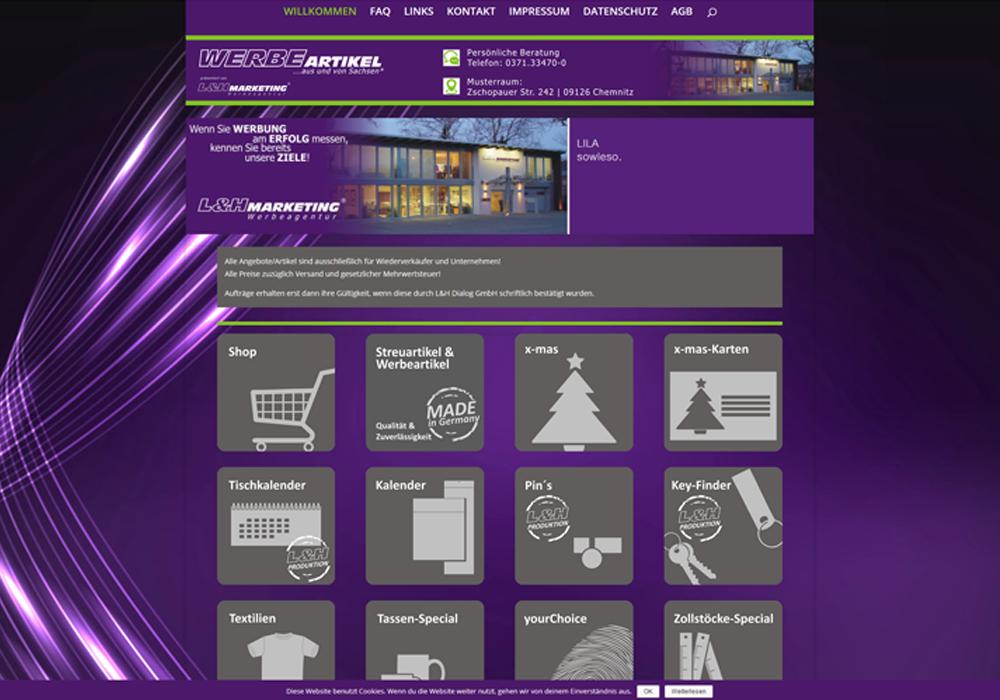 """Das Shop- und Informationssystem """"www.Werbeartikel-sachsen.de"""" geht online"""