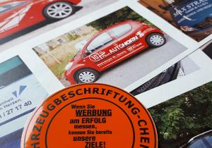 "Die Webseite ""www.fahrzeugbeschriftung-chemnitz.de"" geht an den Start."